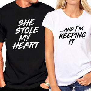 """Keeping His Heart"" T-shirts"