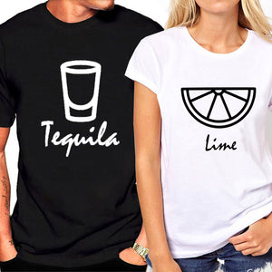 Tequila & Lime Print Matching T-shirts