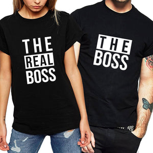 """The Real Boss"" T shirts"