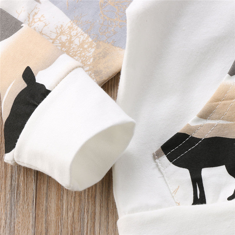 Warm Deer Hoody & Pants Set