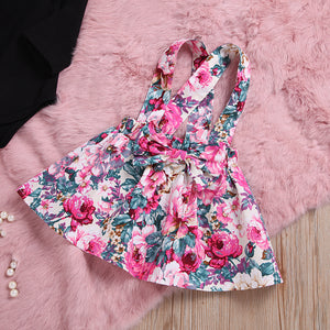 3pcs Princess Floral Outfits Set