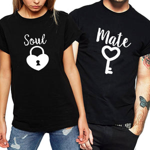 Soul Mate Lock T-shirts
