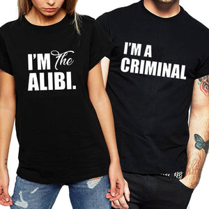Alibi Couple T-shirts