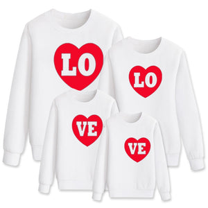 Love Heart Sweatshirts
