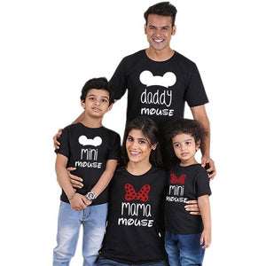 Cartoon Family T-shirts