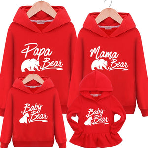 Bear Family Hoodies