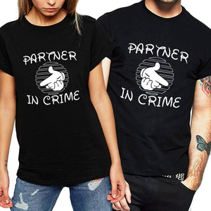 """Partner In Crime"" Funny T-shirts"