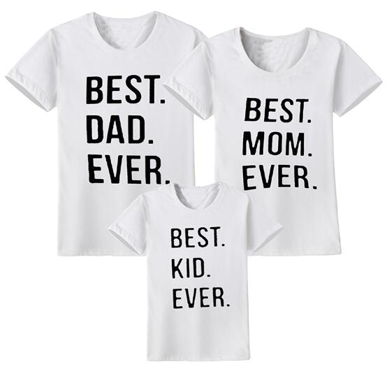 """Best Family Ever"" T-shirts"