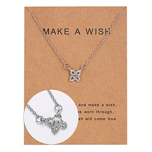 """Make a Wish"" Elegant Gift Necklaces"