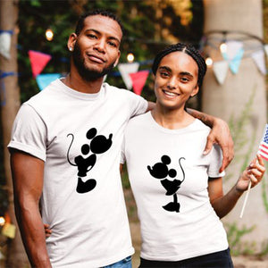 Mickey & Minnie Kiss T-shirts