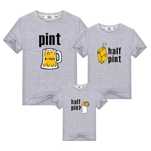 Funny Beer-Milk T-shirts