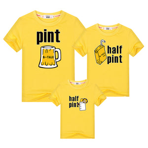 "Colourful ""Beer-Milk"" Funny T-shirts"