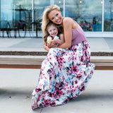 Sleeveless Bohemian Flowers Dresses