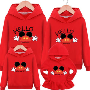 Hello Happiness Hoodies