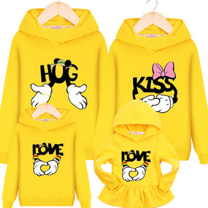 Hugs & Kisses Hoodies