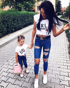 Girl-Power Matching T-Shirts