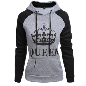 King & Queen Crown Hoodies
