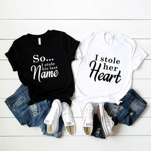 """She Stole My Name"" T-Shirts"