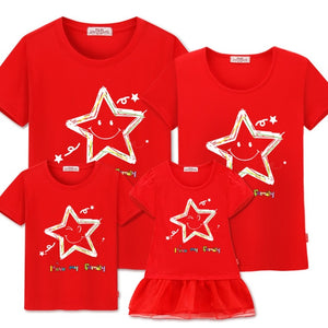 "Colourful ""Stars"" T-shirts"