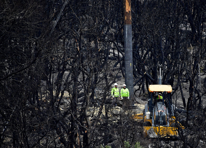 As rain moves into Southern California, wildfire burn areas on alert