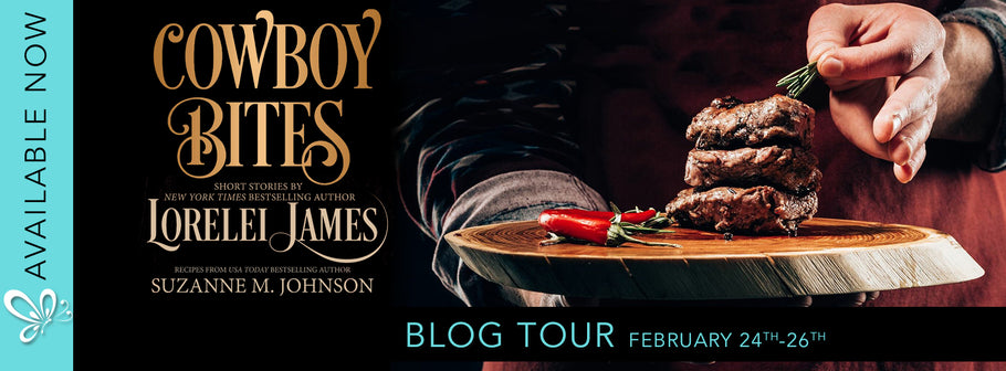 Blog Tour: Cowboy Bites by Lorelei James & Suzanne M