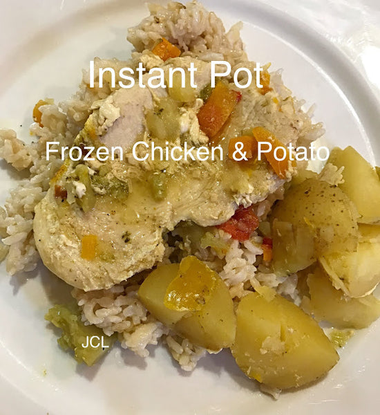 Instant Pot Frozen Chicken and Potatoes