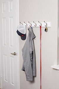 Airleds Home Hook Coat and Hat Rack | Wall Mount | Decorative Home Storage | Entryway Hallway Bathroom Bedroom Rail