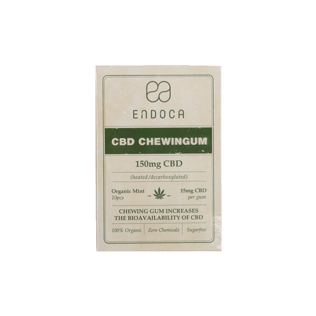 ENDOCA CBD chewing gum (150mg CBD)