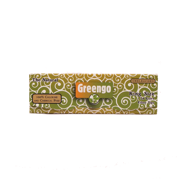Greengo ongebleekt 2-in-1 (King Size)