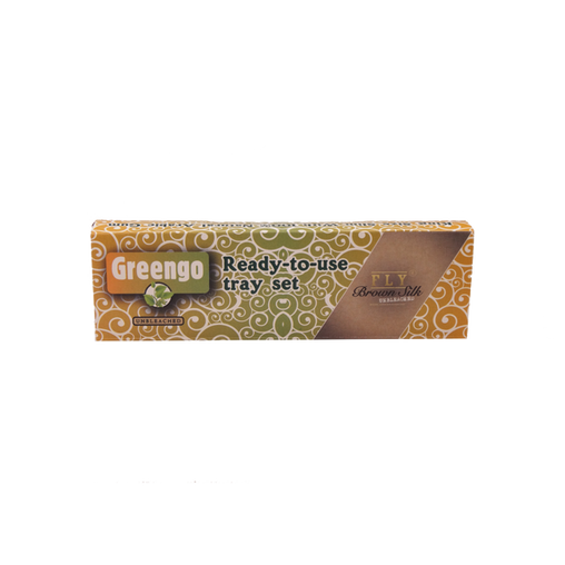 GREENGO festival pack brown (king-size slim)
