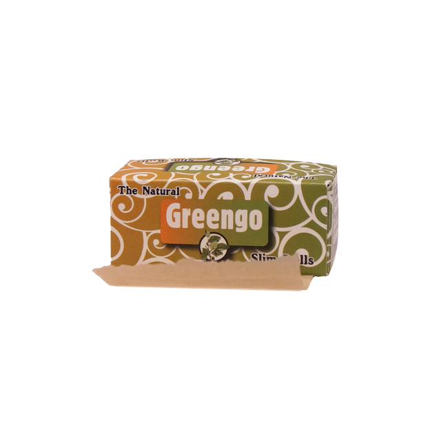 GREENGO unbleached slim rolls (44mm)