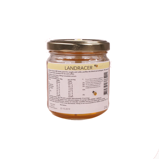 LANDRACER acacia CBD honey (212g)