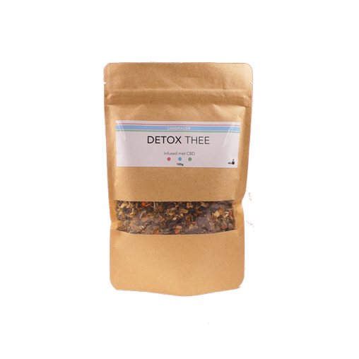 LANDRACER bio detox tea CBD infused (100g)