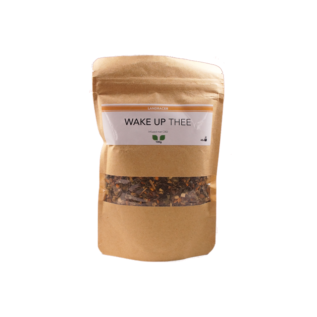 LANDRACER bio wake up tea CBD infused (100g)
