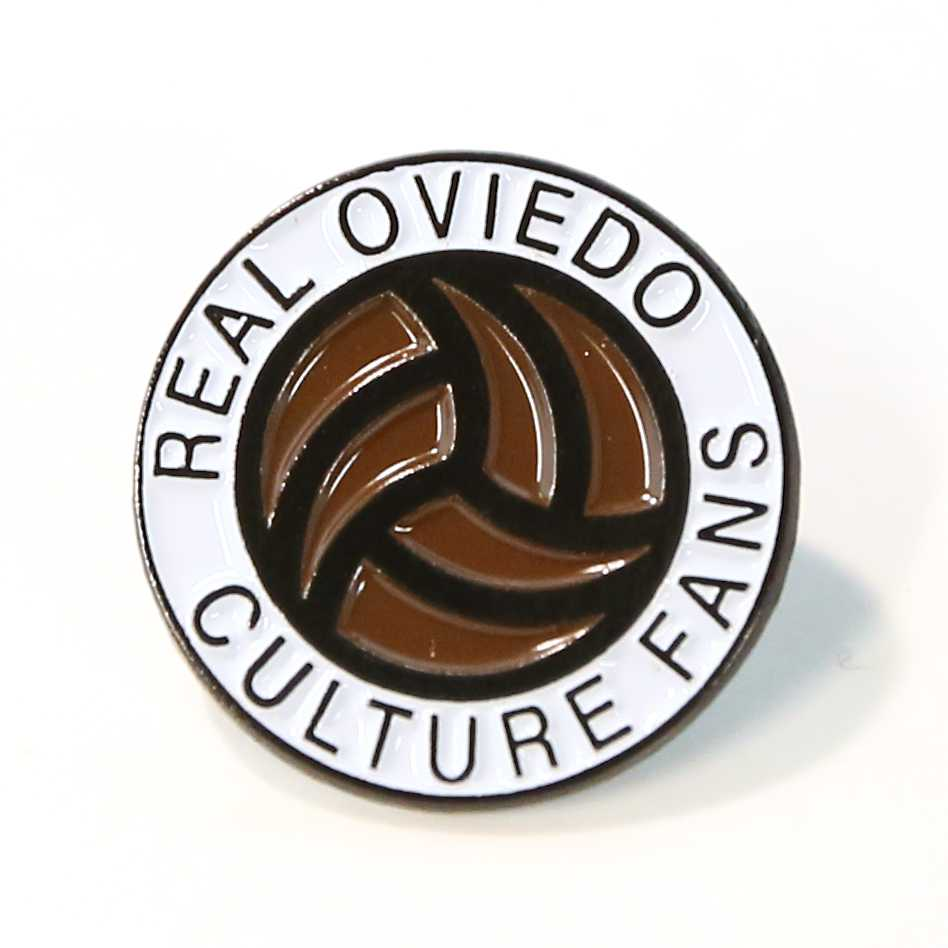 PIN LOGO REAL OVIEDO CULTURE FANS BALÓN
