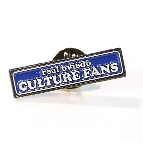 PIN REAL OVIEDO CULTURE FANS LOGO