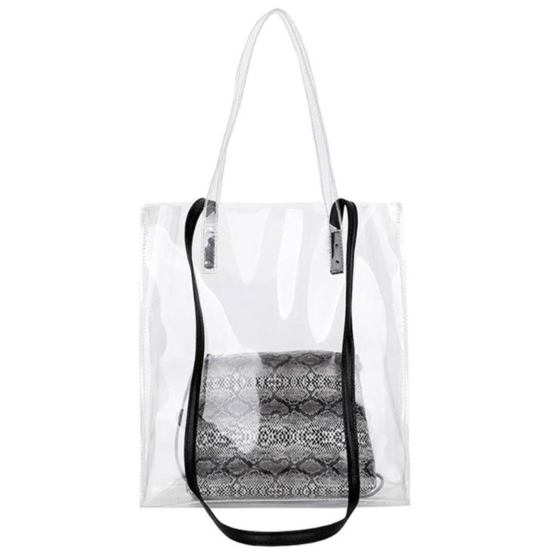 Transparent Two In One Snake Bag