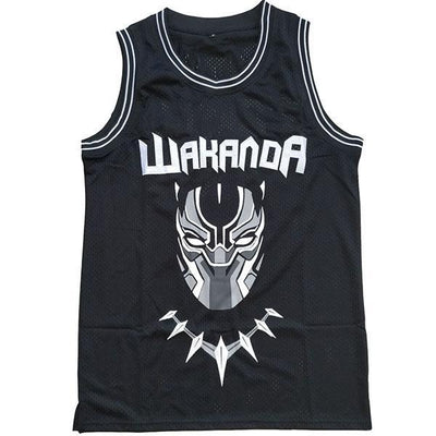 Black Panther Wakanda T`Challa Killmonger Movie Basketball Jersey