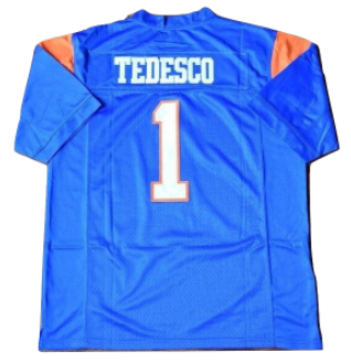 Harmon Tedesco #1 Blue Mountain State Football Jersey