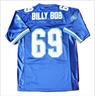 Billy Bob #69 Varsity Blues West Canaan Coyotes Jersey
