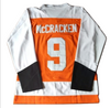 Tim 'Dr. Hook' McCracken #9 Slap Shot Syracuse Bulldogs Ice Hockey Jersey