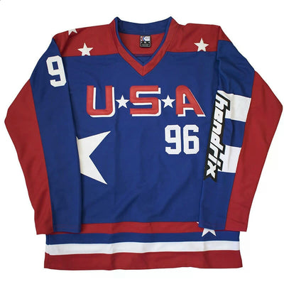 Charlie Conway #96 USA Mighty Ducks Throwback Jersey