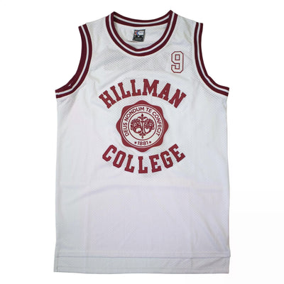 Hillman College #9 Dwyane Wayne A Different World Basketball Jersey