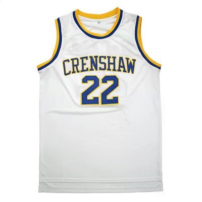 Quincy McCall #22 Love & Basketball Crenshaw High School Jersey