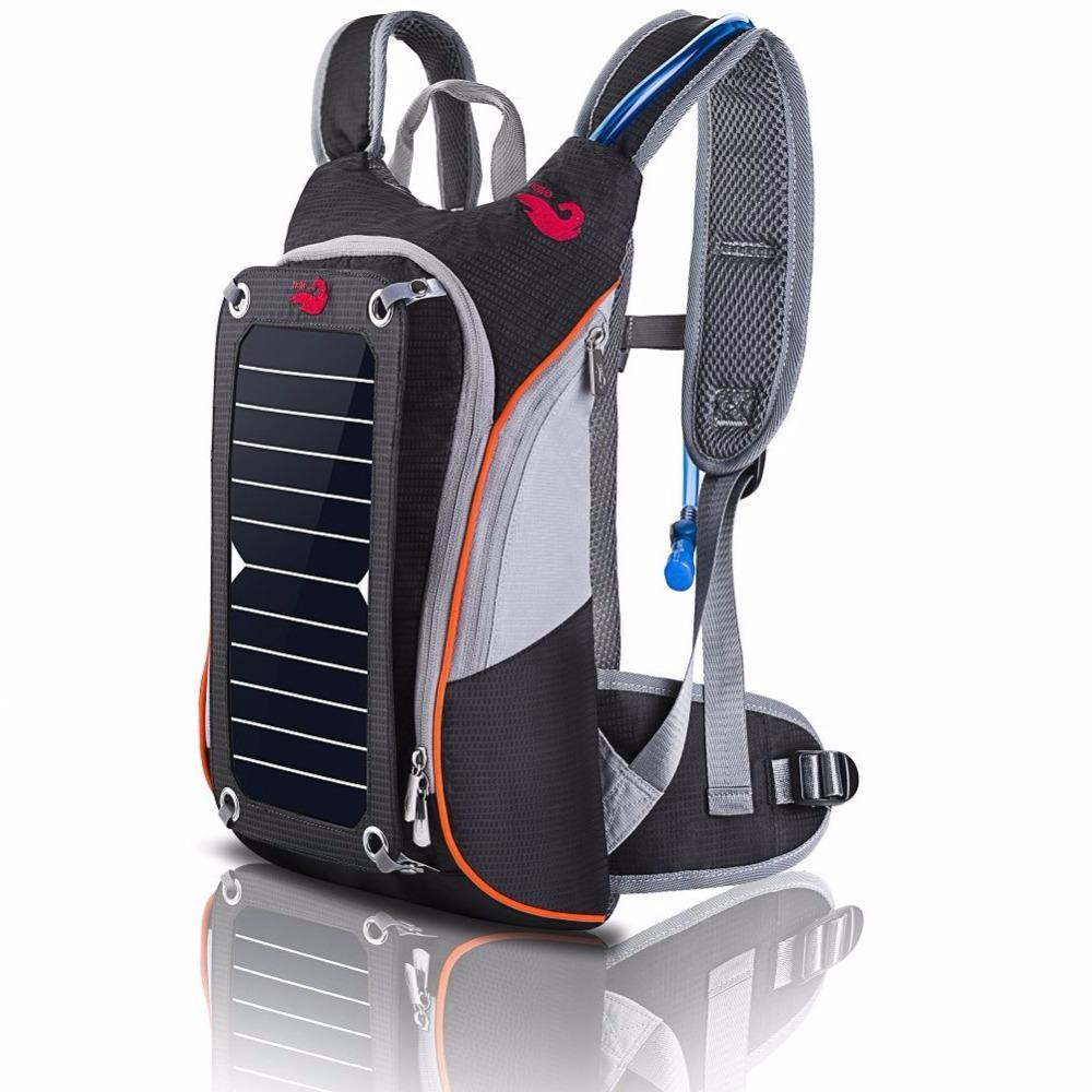 Solar Backpack - Multi-function, Traveling, Camping