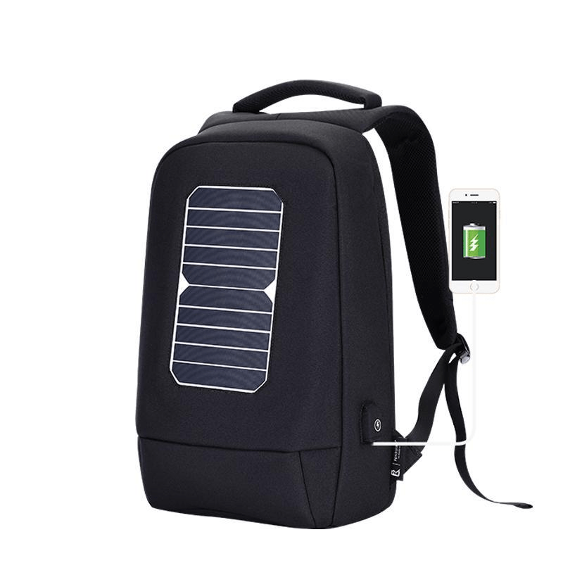 Solar Backpack Wide design