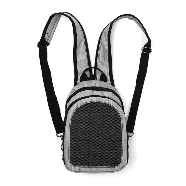 Multi-Color Solar Powered Backpacks