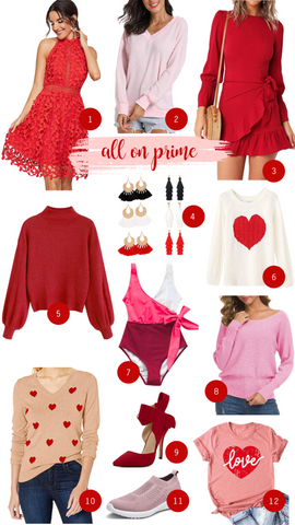 Amazon Fashion Faves | Valentines Edition