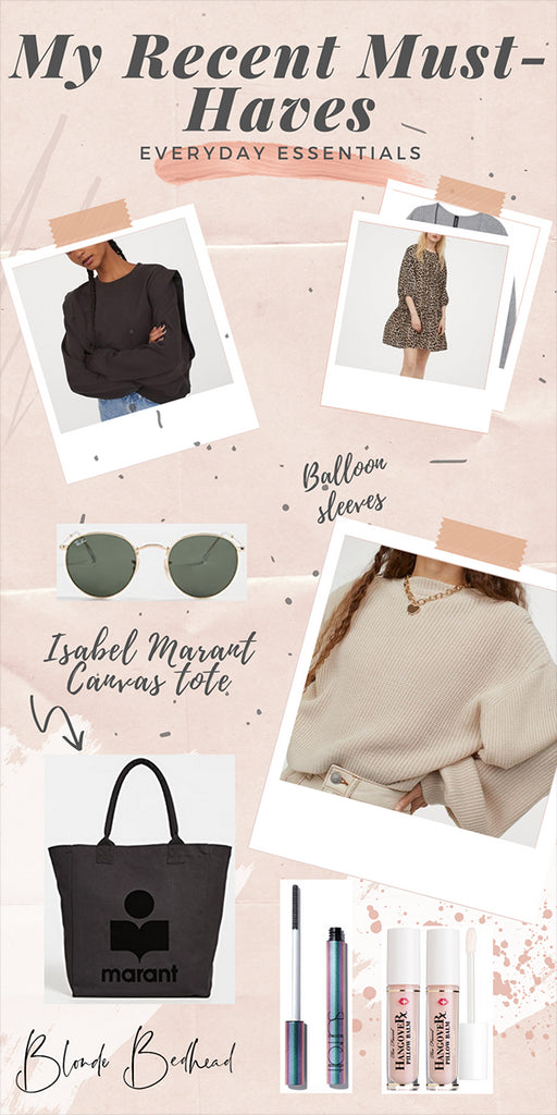 Alright all of these items are recent purchases that I'm either still waiting for in the mail and super excited OR already have in my possession and they've lived up to the hype! Affordable Fall Clothing Buys I ordered this cream sweater, leopard...