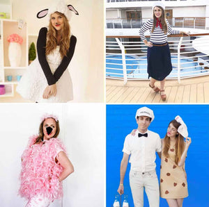 Check out all of these cute and easy DIY Halloween Costumes for adults! Lots of these are no-sew and can be put together in a day!